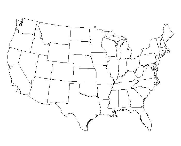 Eastern United States Map Worksheet | Identify The Location A Map ...